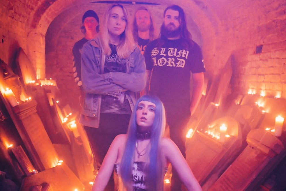 Ashnikko has teamed up with Employed To Serve for a metal version of her single 'Cry'