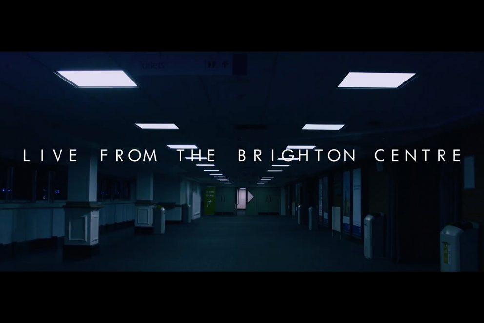 Black Peaks are going to release their Brighton livestream show on vinyl