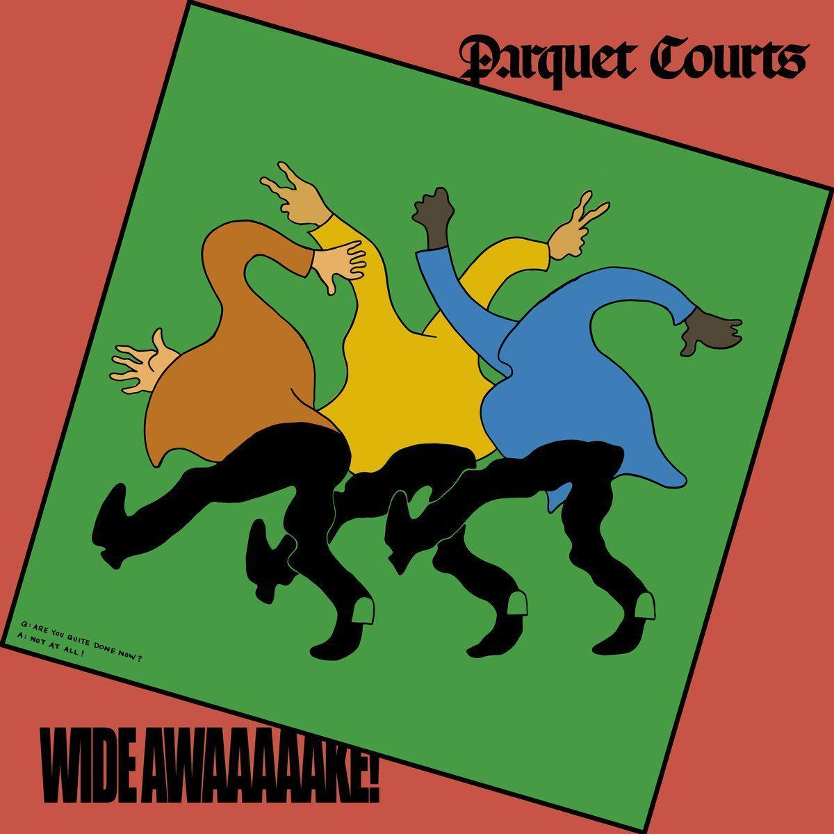 Just when you think you've nailed Parquet Courts down, they surprise you