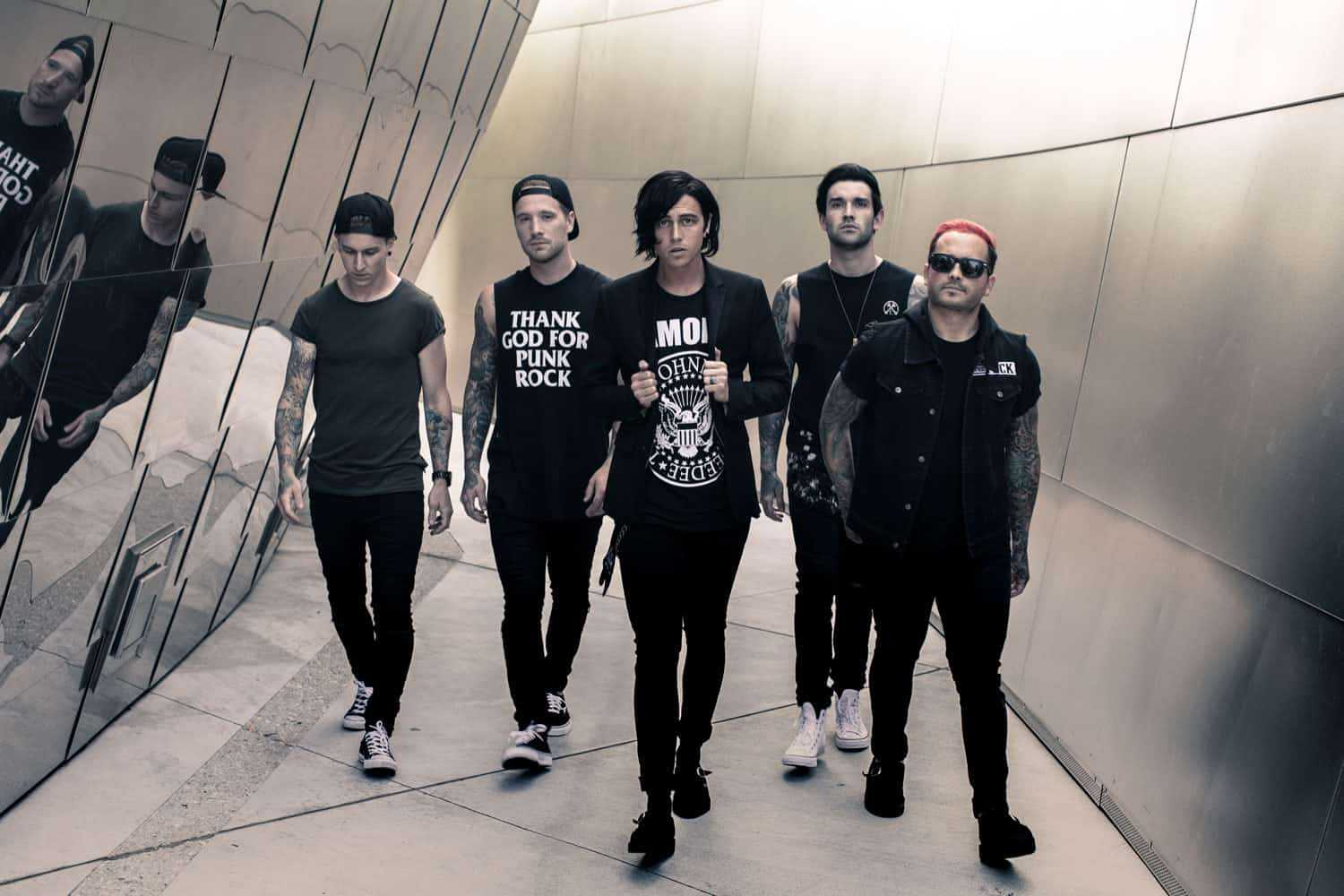 Sleeping With Sirens Are Supporting Good Charlotte On