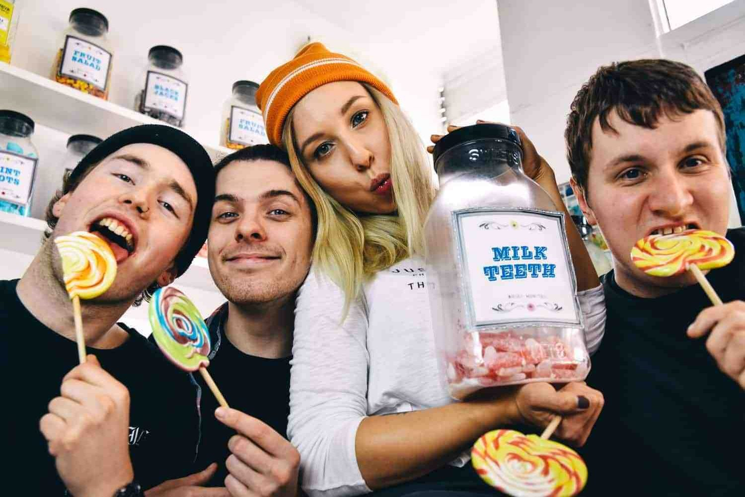 "Milk Teeth: ""We'd like to put out a banging record next year"""