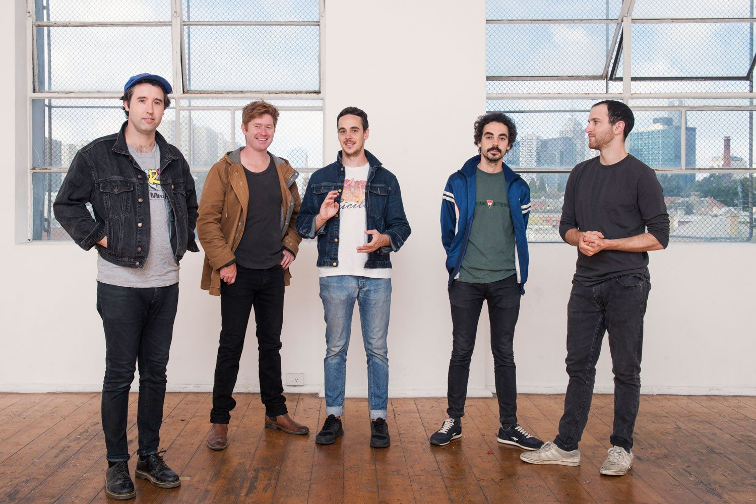 It's a great day to listen to Rolling Blackouts Coastal Fever's new song, 'An Air Conditioned Man'