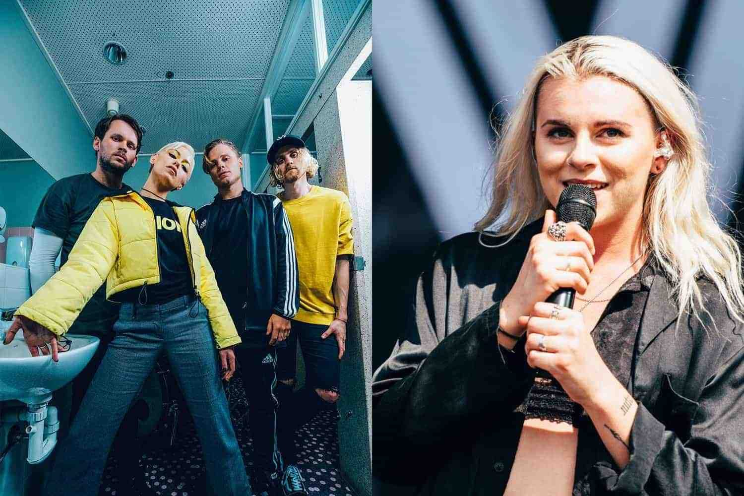Watch Tonight Alive team up with PVRIS' Lynn Gunn for new track 'Disappear'
