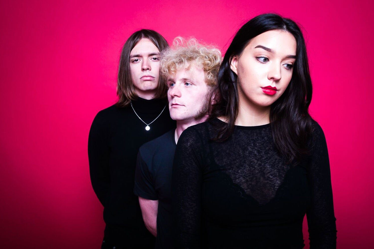 Liverpool trio The Mysterines have debuted a brand new single, 'Who's Ur Girl'
