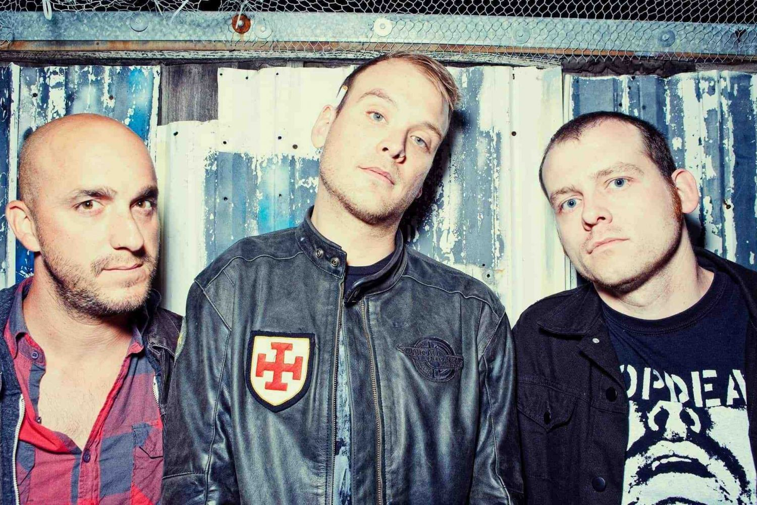 Alkaline Trio have pulled out of this weekend's Self-Help Festival