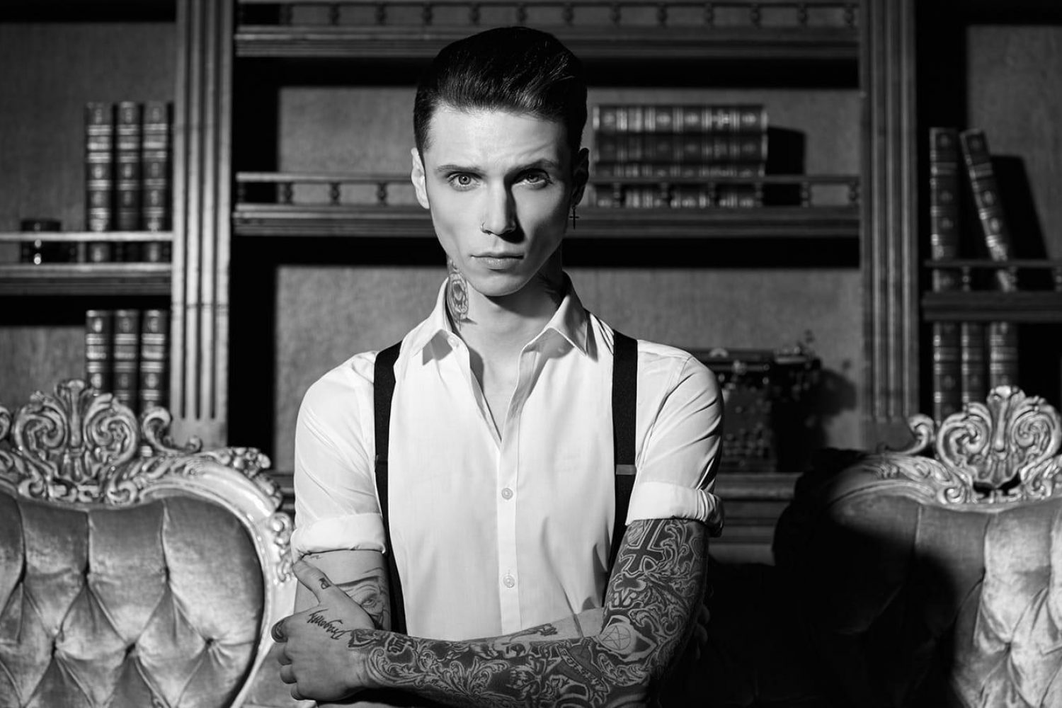 Does Andy Black have new music coming this Friday?