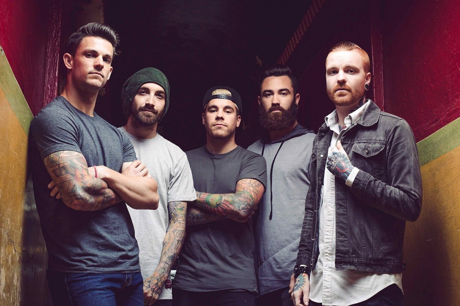 Memphis May Fire have released a new video for their track 'The Old Me'