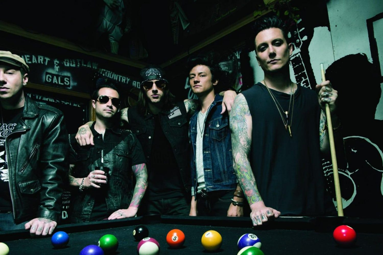 Avenged Sevenfold To Launch Pop Up Shop In London Upset