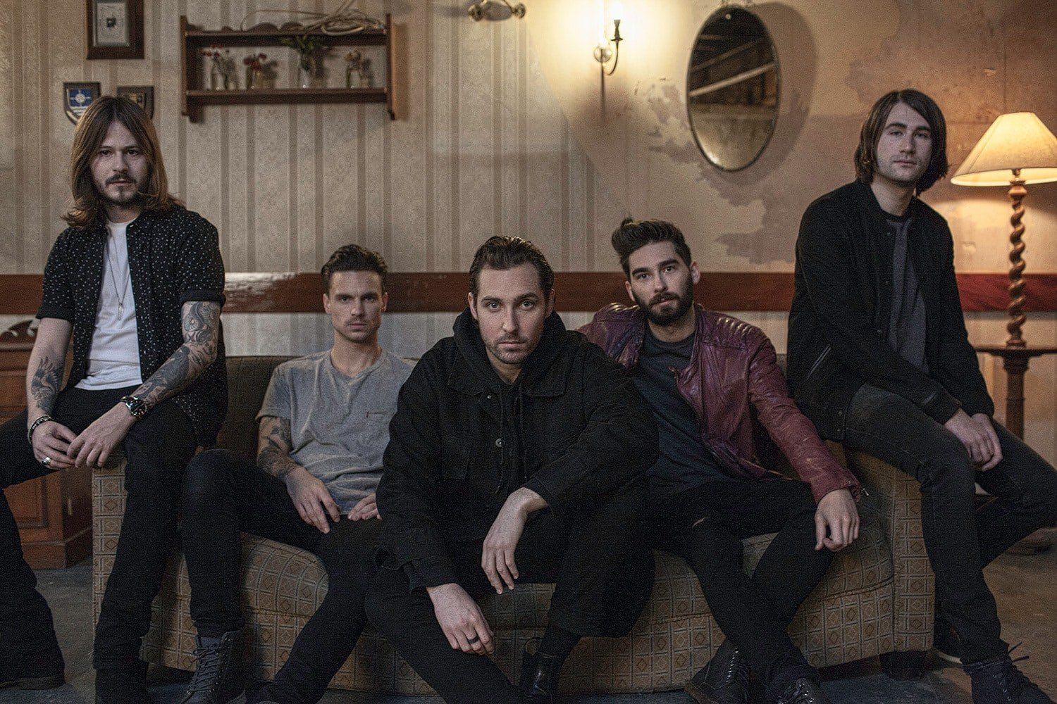 Watch You Me At Six's new video for 'Take on the World', filmed at Alexandra Palace