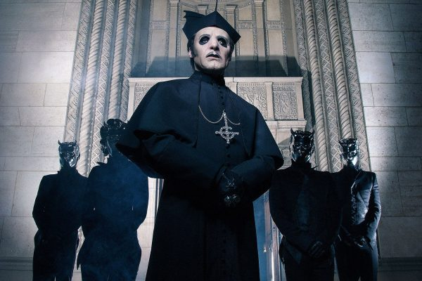 Ghost are supporting Metallica on their massive 2019 stadium tour